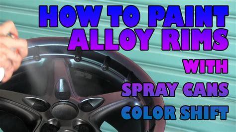 Sprei Rainbow Uk 180b4 1 How To Paint Alloy Wheels With Spray Cans Color Shift