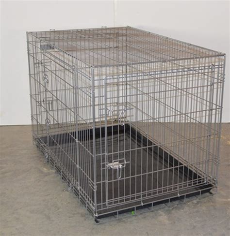 precision crate large precision pet products folding wire crate ebth