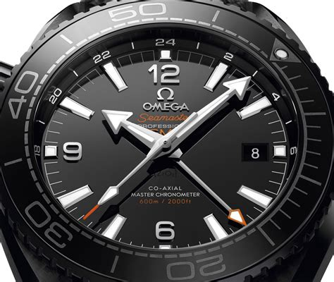 Omega Black omega seamaster planet gmt black watches in