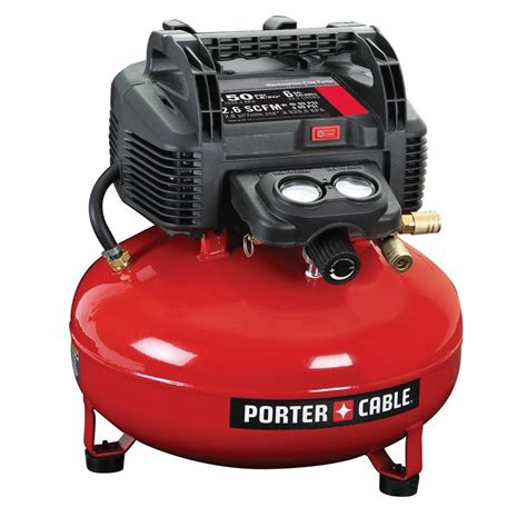 porter cable 6 gal 150 psi portable electric pancake air compressor c2002 the home depot