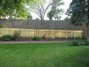 Privacy Fences For Backyards Privacy Fence Ideas For Backyard Large And Beautiful