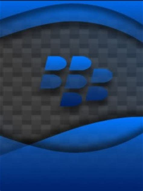 wallpaper blue blackberry blue blackberry logo crackberry com