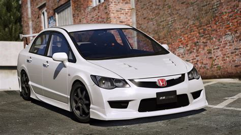 Wits Honda Civic Fd2 2008 honda civic type r fd2 mugen j s racing rhd gta5 mods