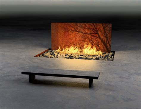 Fireplace Features by Amazing Outdoor And Indoor Fireplaces Collection Tree