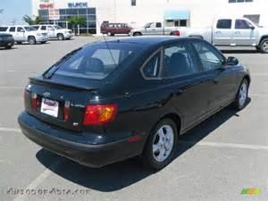 2003 Hyundai Elantra Hatchback 2003 Hyundai Elantra Gt Hatchback In Black Obsidian Photo
