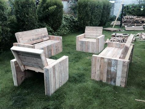 Handmade Pallet Furniture - diy wood pallet patio furniture