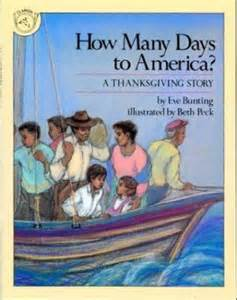 how many more days till thanksgiving how many days to america by eve bunting beth peck