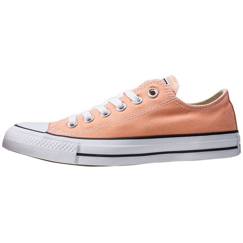 Converse All Peached Ox converse chuck all ox womens trainers in