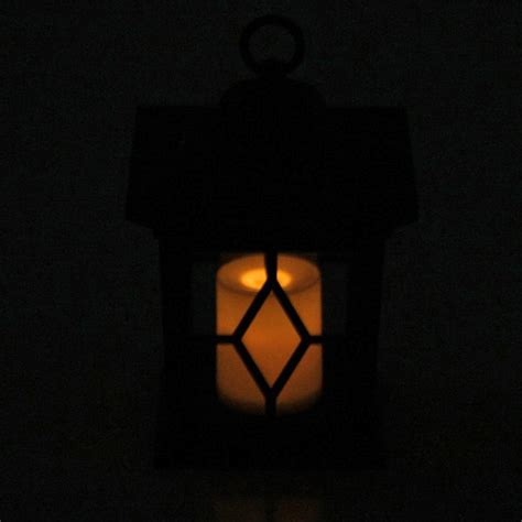 Woodside 4 X Solar Powered Flickering Hanging Candle Flickering Solar Lights