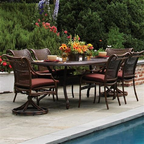 tuscany woven dining patio furniture by summer classics