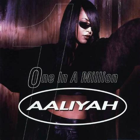One In A Million ienvy aaliyah one in a million official single cover