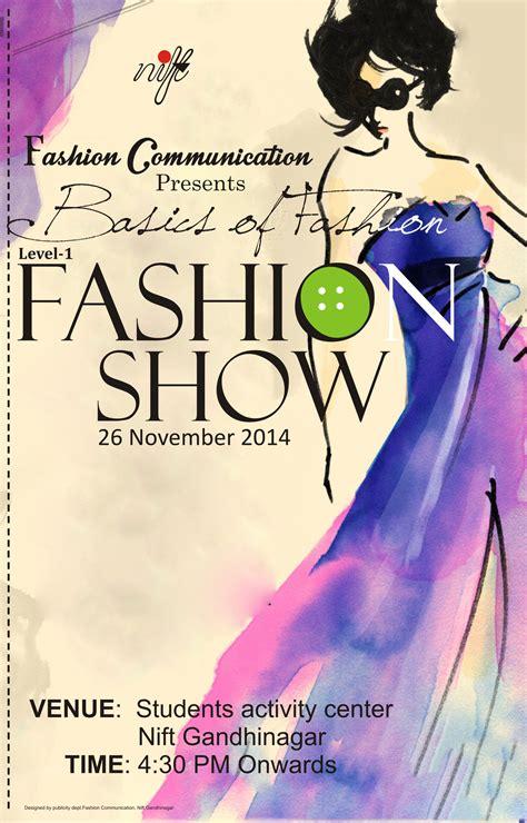 fashion basics fashion show posters freeda creations