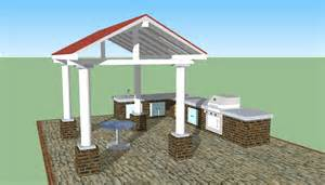 Outdoor Kitchen Plans Designs Outdoor Kitchen Plans Free Howtospecialist How To Build Step By Step Diy Plans