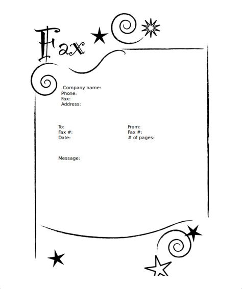 9 Blank Fax Cover Sheet Templates Free Sle Exle Format Download Free Premium Templates Microsoft Word Fax Cover Sheet Template