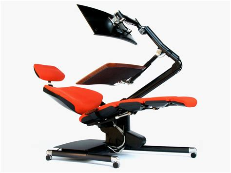 recliner desk forget standing desks are you ready to lie down and work