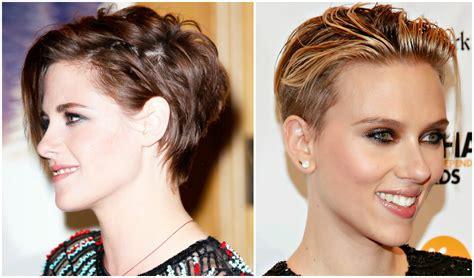 cortes de cabello corto cortes de pelo corto y largo para caras redondas tattoo