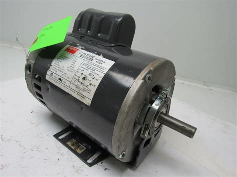 dayton capacitor start motor dayton 4k859be 3 4 hp electric motor capacitor start 115 208 230v 1725 rpm ebay