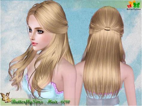 sims 3 custom hairstyles custom sims 3 female hair 091