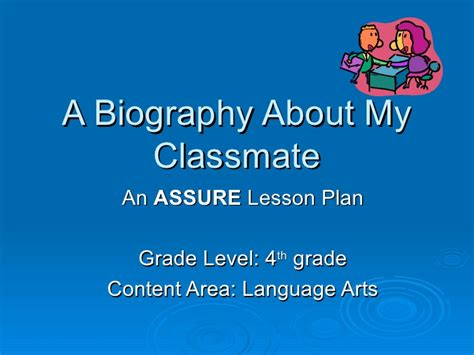 biography and autobiography unit biography lesson plan
