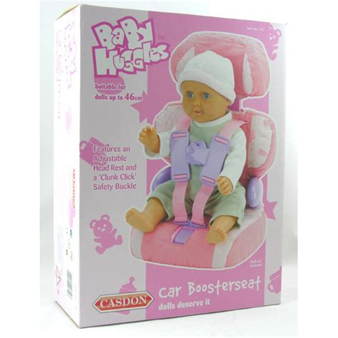 doll booster seat casdon baby huggles car booster seat ebay