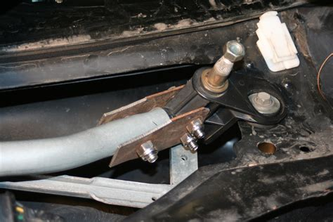 saturn ion wiper transmission fixing my 2004 saturn ion winshield wiper linkage my