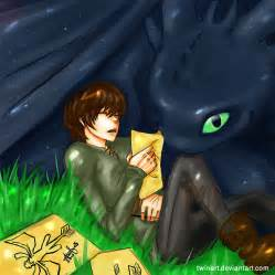 Hiccup x toothless hiccup and toothless by