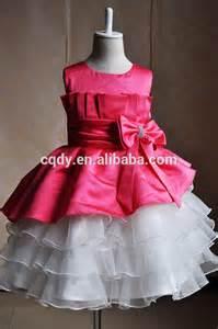 2015 latest design kids party wear dresses for girls fancy