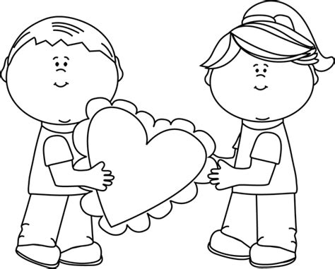 valentines day clipart black and white black and white s day clip black and