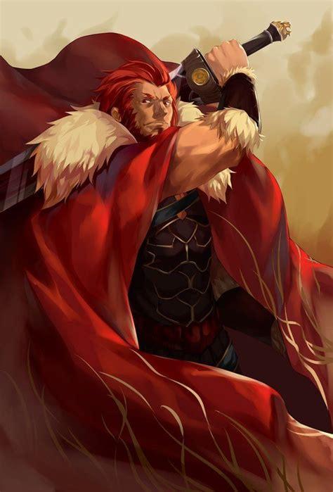Keychain Iskandar Fate Zero fate zero artbooks rider anime fate