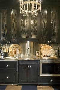 black kitchen pantry cabinet on butler s pantry with