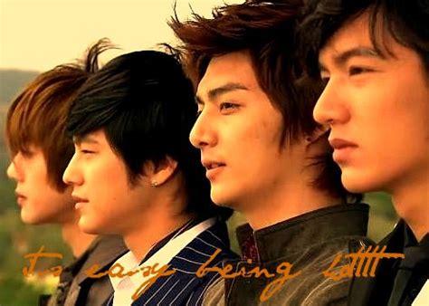 film korea meteor garden f4 boys over flowers f4 korea gu jun pyo lee min ho kim