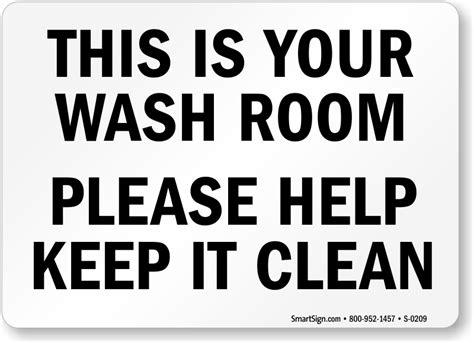 how to keep your bathroom clean keep bathroom clean signs
