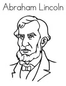 abraham lincoln coloring page pin by mccarty on c2 week 19