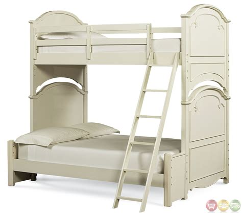 antique white bunk beds traditional antique white size