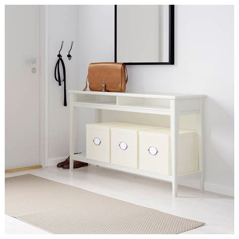ikea console liatorp console table white glass 133x37 cm ikea