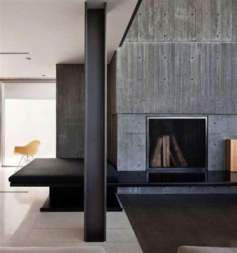 concrete interior design concrete interior wall villas pinterest
