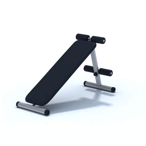workout bench modells modern sleek exercise bench 3d model cgtrader com