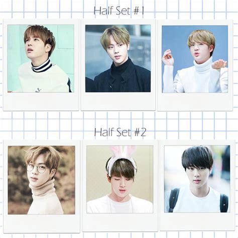 bts line dcard hyung line bts style polaroid photocard 방탄소년단 fanmade