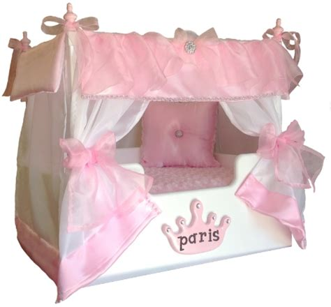 Princess Canopy Dog Bed Personalized Dog Bed