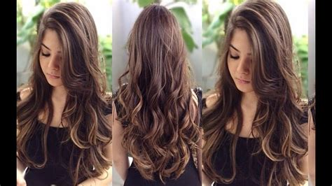 pelo largo corte cabello largo cortes hermosos youtube