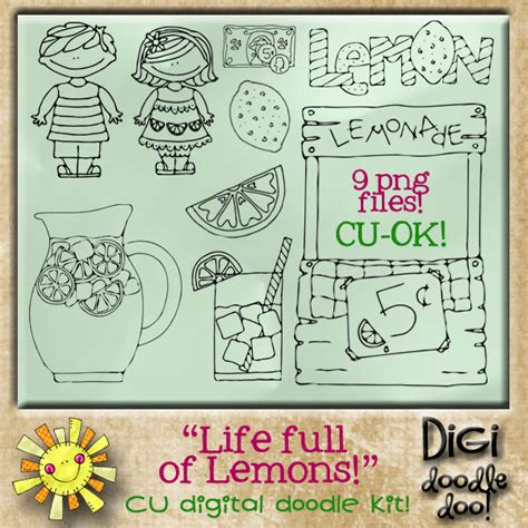 of lemons cu doodles of lemons cu