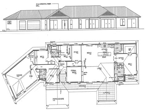 draw   construction plans drawing home construction