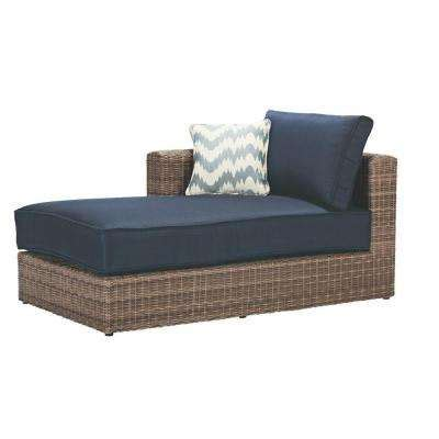 wicker patio furniture blue white patio furniture