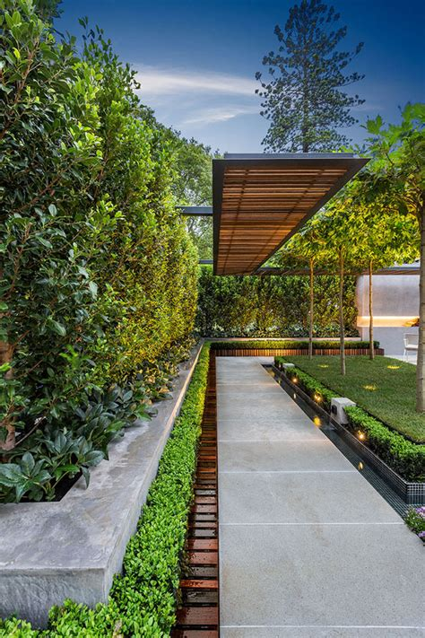 Backyard Architecture by Picture Of Stylish And Modern Garden And Terrace Design By