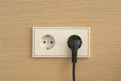 wall outlet stock image image of connect connection