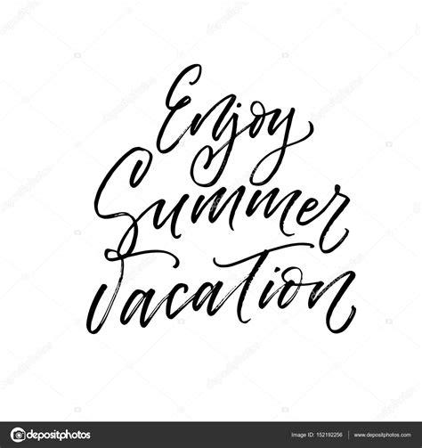 Enjoy Summer Black enjoy summer vacation card stock vector 169 gevko93