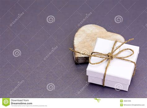 Handmade Small Gifts - handmade small gift box with stock photo image
