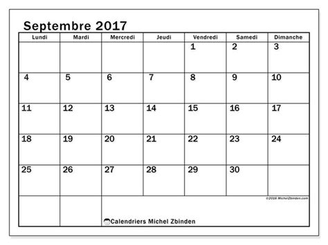 Calendrier Septembre 2017 à Imprimer Gratuit 1000 Id 233 Es Sur Le Th 232 Me Calendrier Mensuel Sur