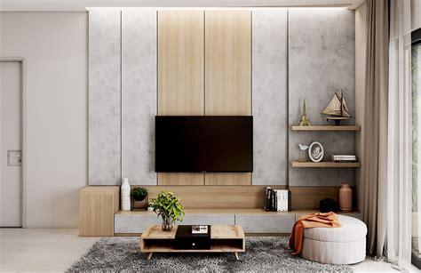 ideas  decorate  wall  hang  tv