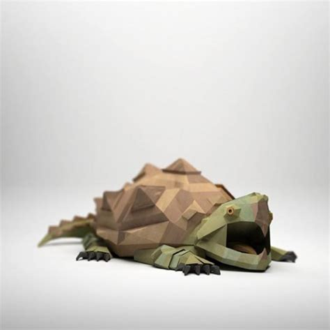Paper Animals - 3d paper sculptures by kool
